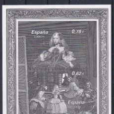 Sellos: ESPAÑA 2009 - PRUEBA PINTURA DE VELAZQUEZ - EMISION CONJUNTA CON AUSTRIA - EDIFIL Nº 99. Lote 294020153