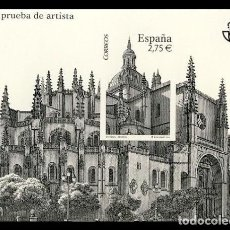 Sellos: ESPAÑA 2010 - PRUEBA CATEDRAL DE SEGOVIA - EDIFIL Nº 102. Lote 294020058
