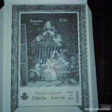Sellos: 2008 EMISION ESPAÑA AUSTRIA PRUEBAS. Lote 77883489