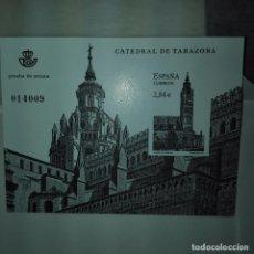 Sellos: ESPAÑA 2011 PRUEBA DE LUJO CATEDRAL DE TARAZONA. Lote 77887297