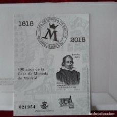Sellos: 2015 ESPAÑA PRUEBA CD AÑOS DE LA CASA DE LA MONEDA DE MADRID. Lote 77891705