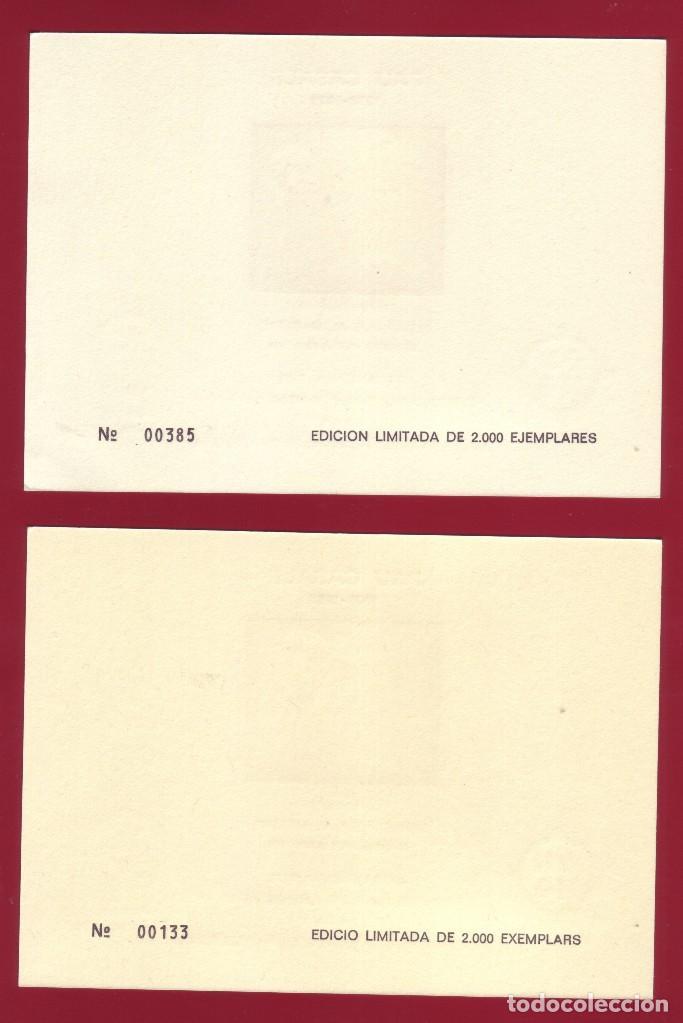 Sellos: HOJITAS DOS EN HOMENAJE A PAU CASALS 1974 BARCELONA - Foto 2 - 87488260