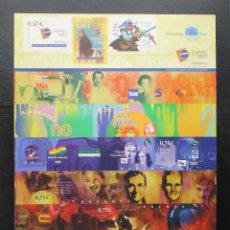 Stamps - ESPAÑA 2002 EXPOSICION MUNDIAL DE FILATELIA JUVENIL EN SALAMANCA - 87540488