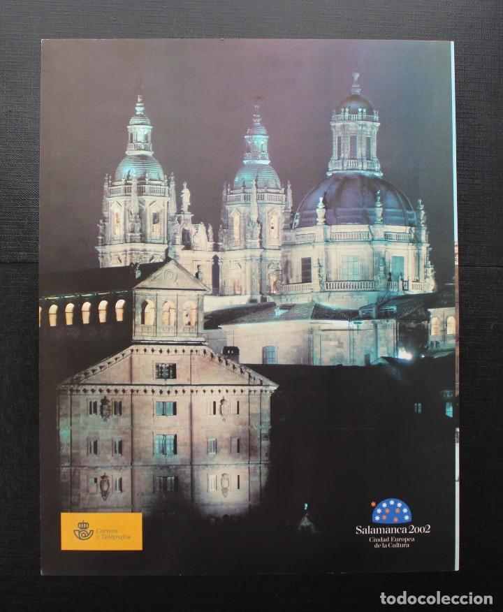 Sellos: ESPAÑA 2002 EXPOSICION MUNDIAL DE FILATELIA JUVENIL EN SALAMANCA - Foto 2 - 87540488