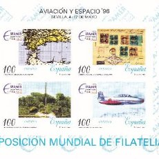 Sellos: ESPAÑA 1996 - PRUEBA OFICIAL Nº 59 (EXP. FILATELICA - AVIACION Y ESPACIO). Lote 87792168