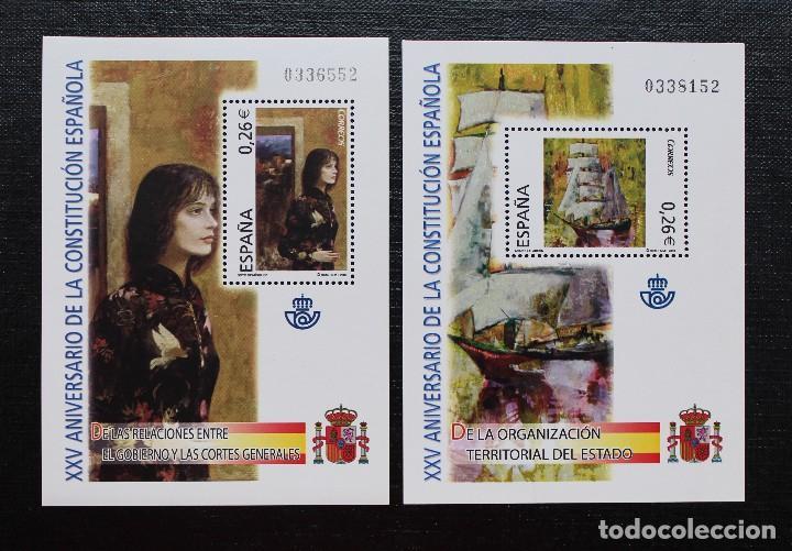 Sellos: ESPAÑA 2003, ANIVERSARIO DE LA CONSTITUCIÓN ESPAÑOLA ** - Foto 4 - 88183760