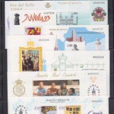 Sellos: PRUEBAS DE LUJO. AÑOS 1994-1995-1996-1997-1998-1999. Lote 94225070