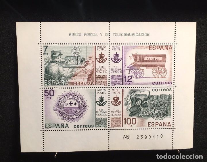 MUSEO POSTAL Y DE TELECOMUNICACION (Sellos - España - Pruebas y Minipliegos)