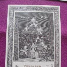 Sellos: PRUEBA DE ARTISTA, SELLO, EMISION CONJUNTA ESPAÑA - AUSTRIA, CORREOS,. Lote 98220491