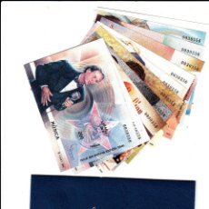 Selos: EXPOSICION MUNDIAL ESPAÑA 2000 SIN DENTAR -CON CARPETA - 11 HOJITAS. Lote 132100705