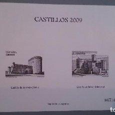Sellos: ESPAÑA -2009 - PRUEBA OFICIAL ESPECIALES - CASTILLOS 2009 - MNH** -NUEVA - TIRADA LIMITADA.. Lote 101453127