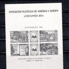 Sellos: PRUEBA OFICIAL EDIFIL 3 SIN CHARNELA. AÑO 1980 ESPAMER 80. Lote 140375157