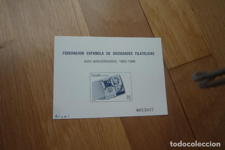 PRUEBA OFICIAL 16.FEDERACIÓN ESPAÑOLA DE SOCIEDADES FILATELICAS. (Sellos - España - Pruebas y Minipliegos)