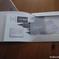 Timbres: CATEDRALES 2012 PRUEBA DE ARTISTA CATEDRAL DE LEON, CON SELLO DE PLATA Y CERTIFICADO DE AUTENTICIDAD. Lote 103508767