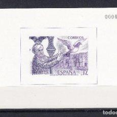 Stamps - PRUEBA OFICIAL EDIFIL 10 SIN CHARNELA. AÑO 1986 EXFILNA 86. LUJO - 109179179