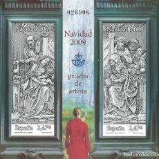 Sellos: ESPAÑA NAVIDAD 2009 PRUEBA DE ARTISTA. Lote 103819891