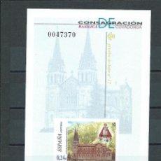 Stamps - PRUEBA OFICIAL EDIFIL 74 NUEVA SIN CHARNELA. AÑO 2001. COVADONGA - 116521394