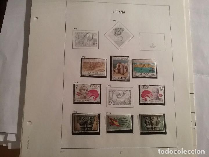 Sellos: Suplemento álbum DAVO ESPAÑA 1978 con sellos - Foto 2 - 105043611