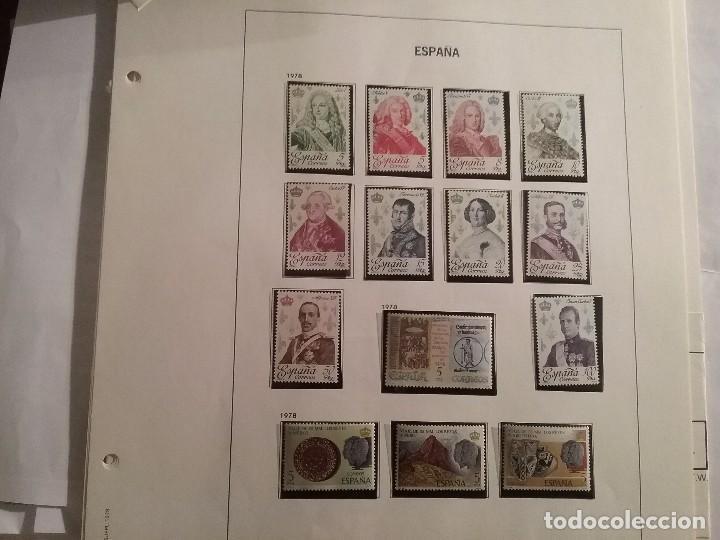 Sellos: Suplemento álbum DAVO ESPAÑA 1978 con sellos - Foto 3 - 105043611