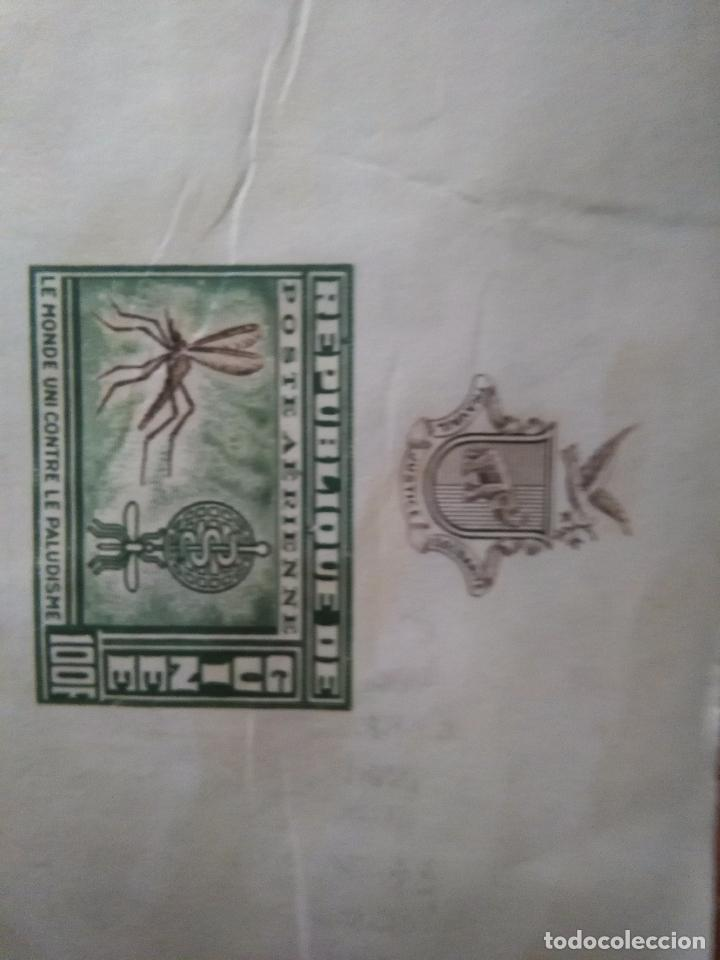 Sellos: 4 SELLOS GUINEA - LUCHA CONTRA EL PALUDISMO / MALARIA OCASION SIN DENTAR 100F GUINEE MOSQUITO - Foto 2 - 107395431