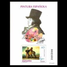 Sellos: ESPAÑA 1996. PRUEBA 60. PINTURA GOYA. PERFECTA NUEVO** MNH. Lote 48271291