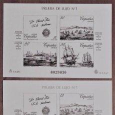 Sellos: [EF0001] ESPAÑA 1987, PRUEBA DE LUJO 1: ESPAMER 1987 (MNH). Lote 110719675