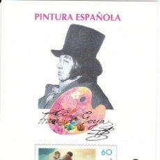 Sellos: PRUEBA DE LUJO Nº 60 DE FRANCISCO DE GOYA - PINTURA-PAINTING. Lote 112977771