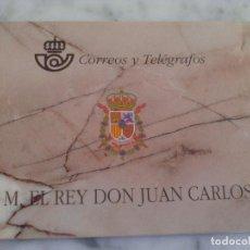 Sellos: CARNET - SM REY DON JUAN CARLOS - CORREOS Y TELÉGRAFOS - 3544C EDIFIL - AÑO 1998. Lote 117155827
