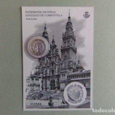 Stamps - Espagne España 2018 Santiago De Compostela Prueba Del Artista Y Sello De Plata - 117733659