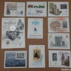 Sellos: LOTE DE 10 PRUEBAS DE ARTISTA, DE LUJO ,DE COLOR. Lote 119690912
