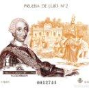 Sellos: PRUEBA OFICIAL NÚMERO 17 CARLOS III Y LA ILUSTRACIÓN. Lote 144186014