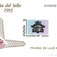 Sellos: PRUEBA OFICIAL NÚMERO 28 DIA DEL SELLO 1993. Lote 119980015