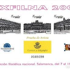 Sellos: PRUEBA OFICIAL NUMERO 78 ESPAÑA 2002. Lote 120147651