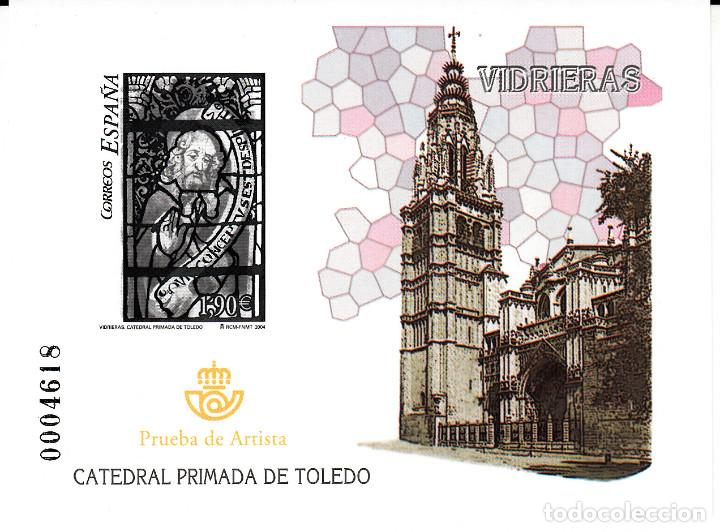 PRUEBA NUMERO 85 - VIDRIERAS - CATEDRAL PRIMADA DE TOLEDO (Stamps - Spain - Tests and Minisheets)