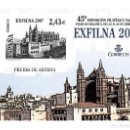 Sellos: PRUEBA NUMERO 94 EXFILNA 2007 PALMA DE MALLORCA. Lote 120258683