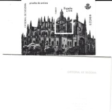 Sellos: PRUEBA NUMERO 102 CATEDRAL DE SEGOVIA. Lote 120353415