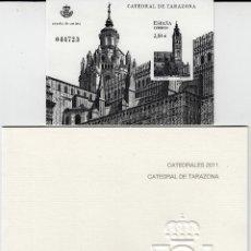 Sellos: PRUEBA NUMERO 106 CATEDRALES 2011 CATEDRAL DE TARAZONA . Lote 120354923