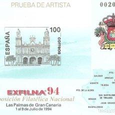 Stamps - ESPAÑA1994. EXFILNA 94. LAS PALMAS DE GRAN CANARIA. PRUEBA OFICIAL Nº 33 - 124300603