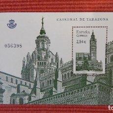Sellos: PLIEGO SELLO NUEVO CATEDRAL DE TARAZONA. Lote 132052230