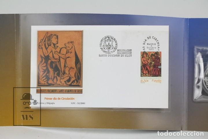 Sellos: Prueba Especial - Milenario De Santo Domingo De Silos - Edifil 3817/19 - Año 2001 - Foto 3 - 133090266