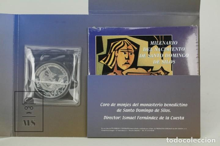 Sellos: Prueba Especial - Milenario De Santo Domingo De Silos - Edifil 3817/19 - Año 2001 - Foto 4 - 133090266