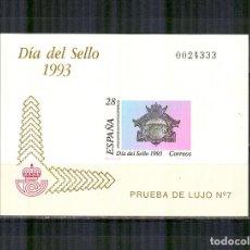 Sellos: PRUEBA 28 3243 DIA SELLO 1993 BUZON PERFECTO ESTADO. Lote 138598986
