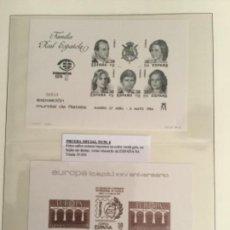"""Sellos: 1984-ESPAÑA EDIFIL 6/7 PRUEBAS EXPOSICIÓN MUNDIAL DE FILATELIA """"ESPAÑA´84"""" . Lote 140187090"""