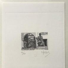 """Sellos: 1996-ESPAÑA PRUEBA ARTISTA-DISEÑO """"MONUMENTO A MAIMÓNIDES"""" PD3454 -TIRADA 50 UND.. Lote 140445542"""