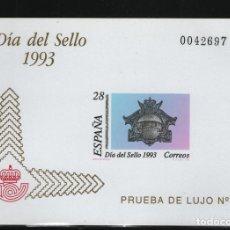 Sellos: 1993 PRUEBA ¡OPORTUNIDAD! DIA DEL SELLO EDIFIL 28 MNH EL DE LA IMAGEN. Lote 140573074