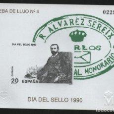 Sellos: 1990 PRUEBA ¡OPORTUNIDAD! DIA DEL SELLO EDIFIL 20 MNH (EL DE LA IMAGEN). Lote 140575942