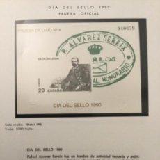 Sellos: 1990-ESPAÑA PRUEBA OFICIAL Nº 20 DÍA DEL SELLO 1990. Lote 229128517