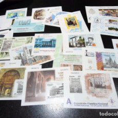 Sellos: PRUEBAS DE LUJO OFICIALES - P.O. FILATELICAS CAT. 330€ - ESPAÑA Nº 31 AL 72 - LOTE 22 DIF. - NUEVAS. Lote 143663386