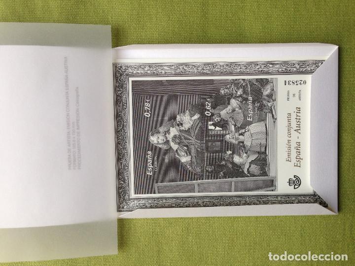 ESPAÑA SPAIN PRUEBA DE ARTISTA 99 2009 EN MINIESTUCHE ORIGINAL (Sellos - España - Pruebas y Minipliegos)
