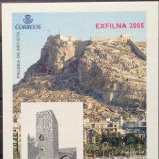 Sellos: ESPAÑA SPAIN PRUEBA DE ARTISTA 90 2005 NUEVO MNH ALICANTE. Lote 144556198